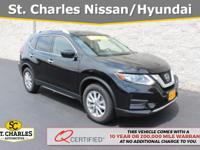 2019 Nissan Rogue SV Magnetic Black Pearl Nissan