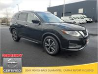 CARFAX One-Owner. 2019 Nissan Rogue SL FWD CVT with