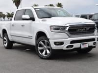 Certified. Ivory White Tri-Coat Pearlcoat 2019 Ram 1500