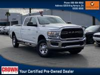 Certified. Bright White Clearcoat 2019 Ram 2500 Big