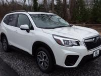 2019 Subaru Forester Premium Crystal White Pearl AWD