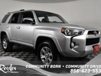 This vigorous 4Runner, with its grippy 4WD, will handle