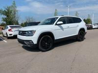 CERTIFIED 2019 VW Atlas SE w/Tech! AWD! Pure White over
