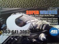 welcome to super wrench car care 301 lake ave  we have