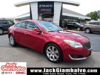 Certified. Crystal Red Tint 2014 Buick Regal