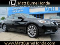 This Certified Pre-Owned 2014 Honda Accord Sedan Sport