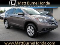 This 2014 Honda CR-V EX-L was purchased, serviced and
