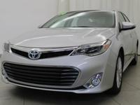 2014 Toyota Avalon Hybrid Limited Classic Silver