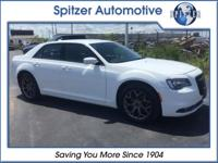2015 Chrysler 300 S Bright White Clearcoat BACKUP