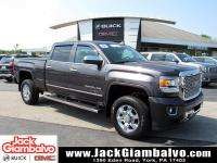 Certified. Iridium Metallic 2015 GMC Sierra 2500HD