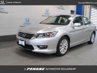 2015 Honda Accord EX-L HONDA TRUE CERTIFIED, INCLUDES