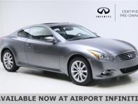 2015 INFINITI Q60 CLEAN CARFAX ***CERTIFIED PRE-OWNED