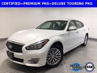 2015 INFINITI Q70L 3.7X DELUXE TOURING **BALANCE OF