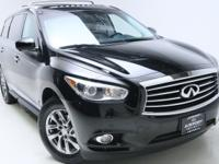 2015 INFINITI QX60 CARFAX One-Owner. 120V Power Outlet,