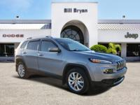 Lavishly luxurious, this 2015 Jeep Cherokee turns even