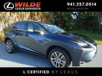 EPA 28 MPG Hwy/22 MPG City! CARFAX 1-Owner, L/