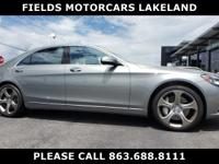 Clean CARFAX. Certified. Silver 2015 Mercedes-Benz