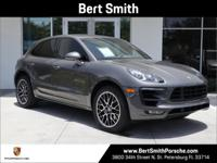 2015 Porsche Macan S AWD. Agate Grey Metallic over