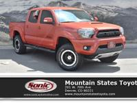 Look at this 2015 Toyota Tacoma TRD Pro. Its Automatic
