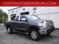 Certified. Gray 2015 Toyota Tundra Limited 4WD 6-Speed