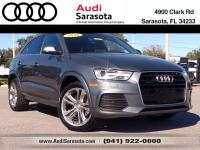 Audi Certified!..This Low Mileage, All Wheel Drive Q3