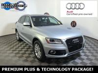 AUDI CERTIFIED - PREMIUM PLUS AND TECHNOLOGY PACKAGE -