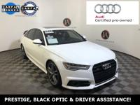 AUDI CERTIFIED - PRESTIGE, BLACK OPTIC, DRIVER