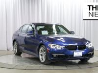 Here is a 2016 BMW 328i in beautiful Mediterranean Blue