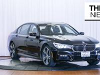 Here is a fresh 2016 BMW 740i M Sport in Black Sapphire