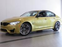2016 BMW M3! CERTIFIED! UPGRADED M PERFORMANCE