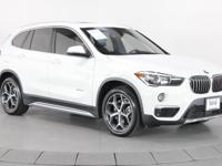 Certified. Alpine White 2016 BMW X1 xDrive28i AWD 22/32