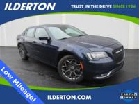 Blue Pearl 2016 Chrysler 300 S AWD 8-Speed Automatic