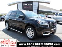 Ebony Twilight Metallic 2016 GMC Acadia SLT-1 AWD