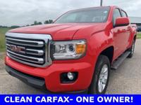 2016 GMC Canyon SLE1, CLEAN CARFAX-ONE OWNER, NEW CAR