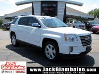 PRICE REDUCED!Certified. Summit White 2016 GMC Terrain