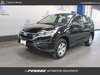 2016 Honda CR-V LX HONDA TRUE CERTIFIED, INCLUDES