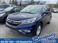 CARFAX One-Owner. HONDA CERTIFIED***7 YEAR/100K