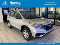 Honda Certified, CARFAX 1-Owner, GREAT MILES 44,875!