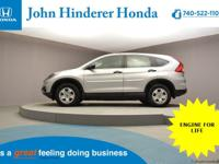John Hinderer Honda is Excited to present a Like New