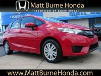 This Certified Pre-Owned 2016 Honda Fit LX was