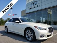 INFINITI OF MACON IS OFFERING THIS 2016 INFINITI Q50