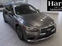Odometer is 4103 miles below market average!INFINITI