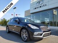 INFINITI OF MACON IS OFFERING THIS 2016 INFINITI QX50