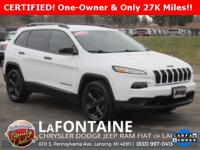 2016 Jeep Cherokee Sport Altitude Bright White