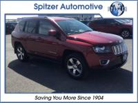 2016 Jeep Compass High Altitude Deep Cherry Red Crystal