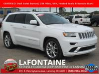 2016 Jeep Grand Cherokee Summit Bright White Clearcoat