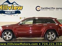 CARFAX One-Owner. Certified. Velvet Red Pearlcoat 2016
