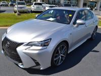 Silver 2016 Lexus GS 350 RWD 8-Speed Automatic with