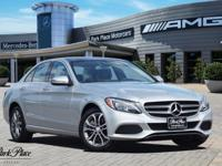 Elegantly expressive, this 2016 Mercedes-Benz C-Class