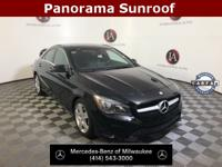 Clean CARFAX. Certified. Night Black 2016 Mercedes-Benz